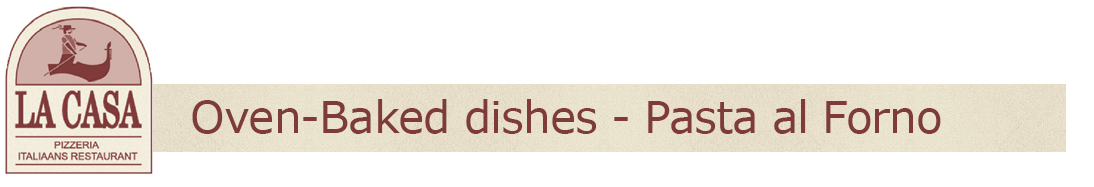 Oven-baked dishes