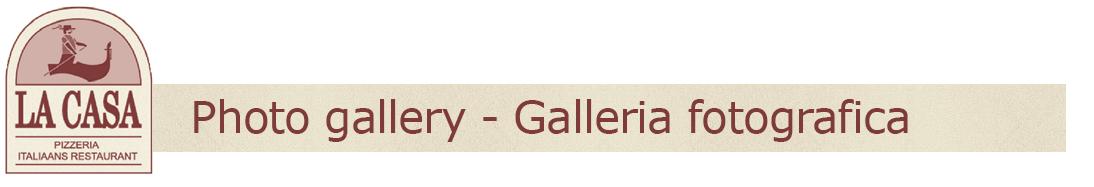 Photo gallery - Galleria fotografica